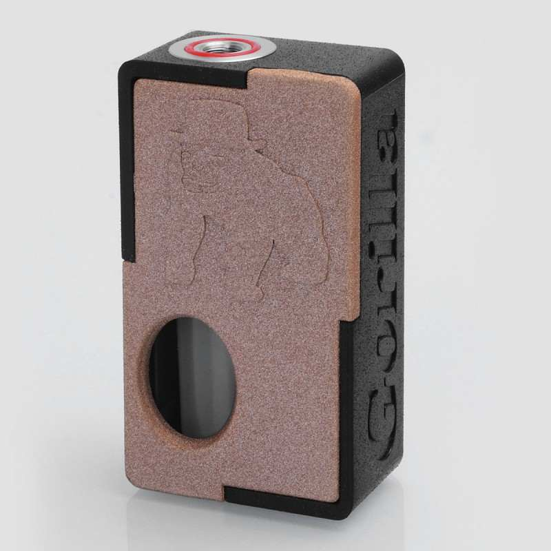 Gorilla Squonk Mod (First 3D printed box mod) By Yi Loong