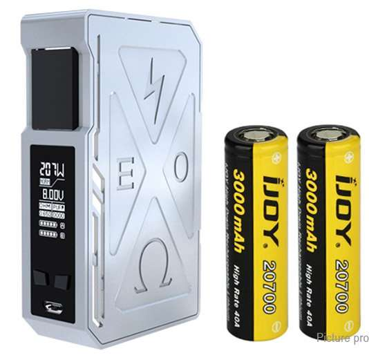 IJOY Exo PD270 207W Box Mod (with 2x 20700 batteries) £36.99