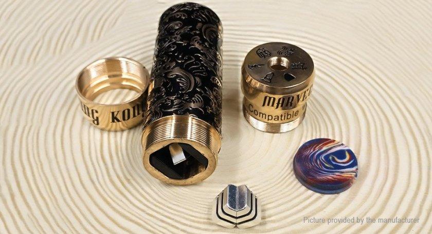 MARVEC Skeleton King Kong 26mm Mech Mod package contents UK Stock