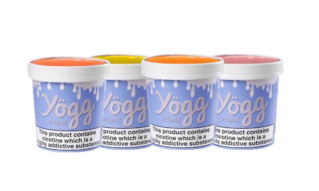 60ml Yogg 6x 10ml E-Liquid Pots (4 Flavours) – £9.49