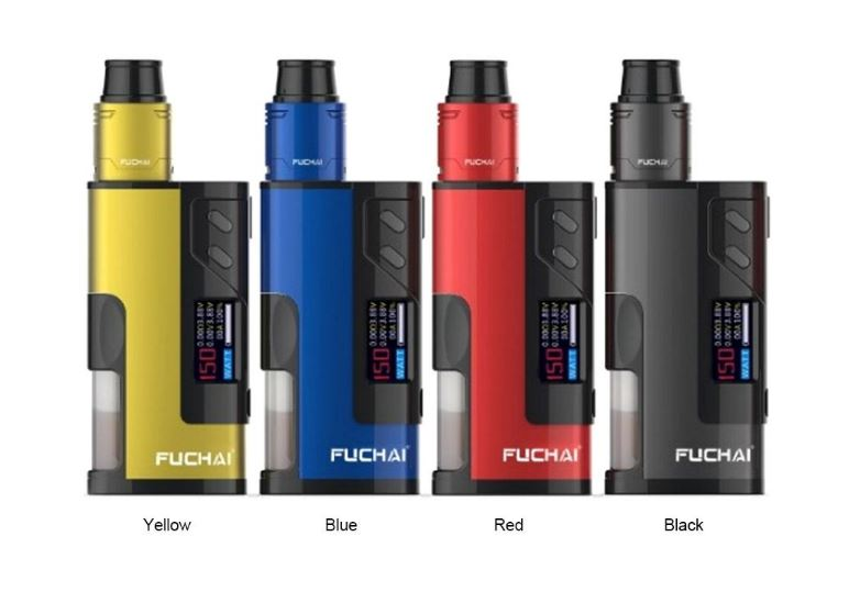 Sigelei Fuchai Squonk 213 150W Kit (Black, Blue, Red or Yellow) – £36.99 delivered