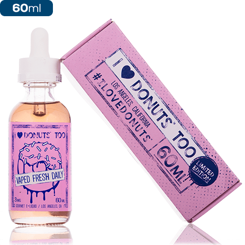 I Love Donuts Too by Mad Hatter Juice 60ml Shortfill – £11.50 at Vape Potions