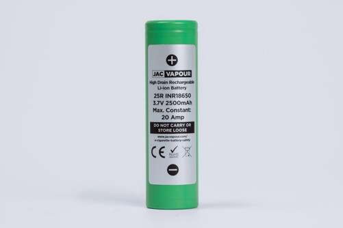 Samsung 25R 20A 2500MaH 18650 Battery – £2.54 at JAC Vapour