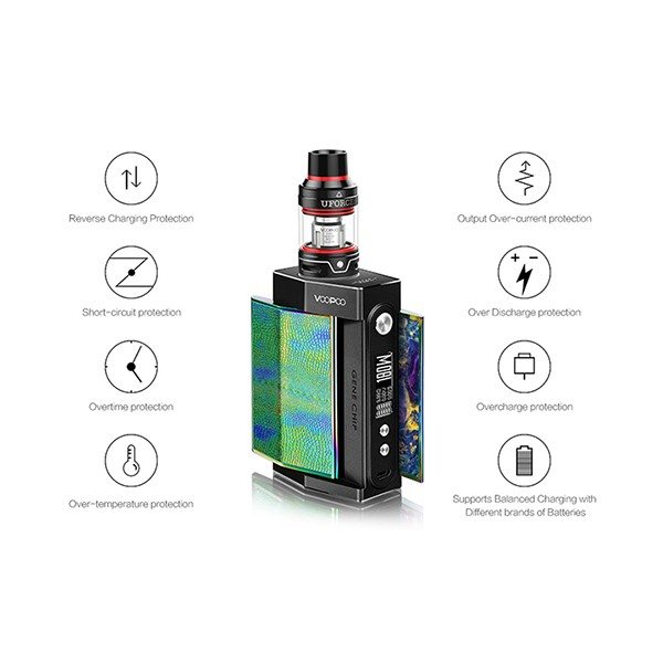 VOOPOO TOO 180W with UFORCE TC Kit Specs Cheapest in UK