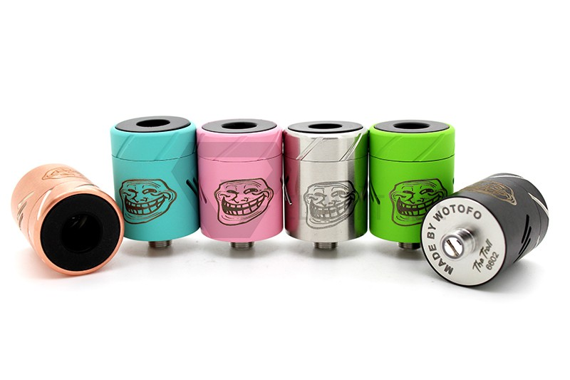The Troll RDA by Wotofo – £9.99 at Vampire Vape