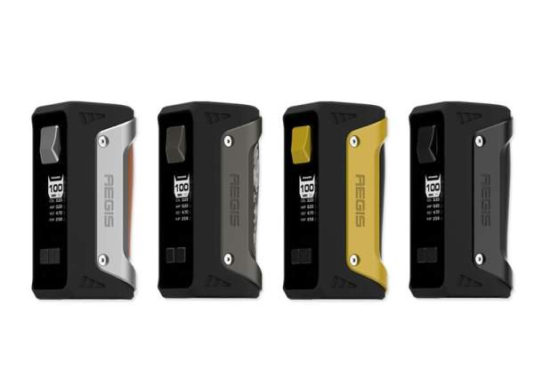 GeekVape Aegis TC 100W Box Mod – £37.50 delivered (with FREE Eliquid) from TECC