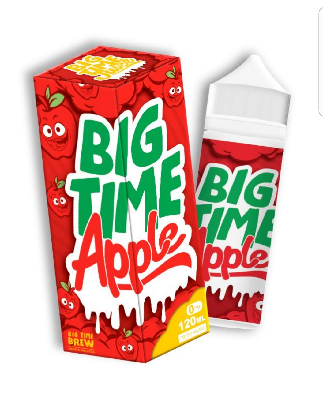Big Time Juice Apple 120ML – £10.99 at Vapour247