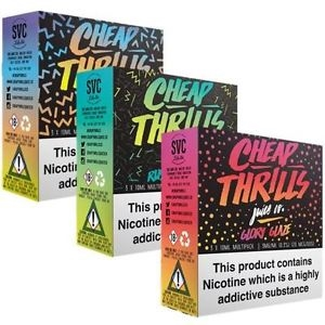 Cheap Thrills 3 x 10ml – £5.49