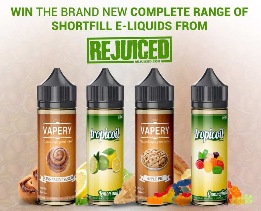 Rejuiced Shortfill Eliquid Giveaway