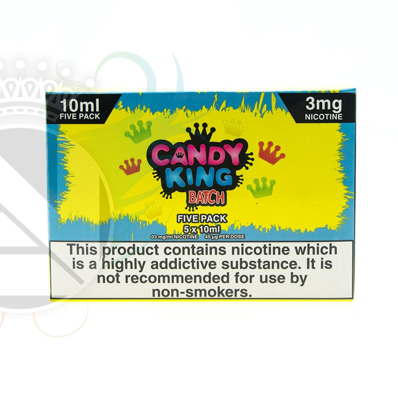 Batch 5x10ml By Candy King – £4.00 at Evolution Vaping