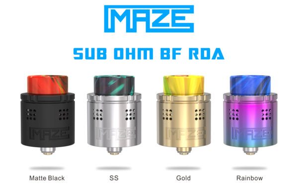 Vandy Vape MAZE BF 24 RDA – £9.99 at Vaping101