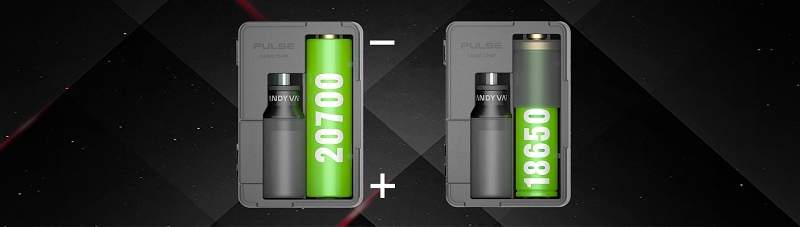 Vandy Vape Pulse BF Squonk Mod with Gene Chip 18650 and 20700 compatibility