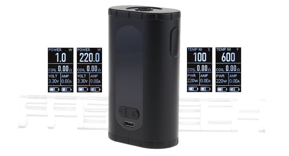 Authentic Eleaf Invoke 220W TC VW APV Box Mod – £21.29 at Fast Tech