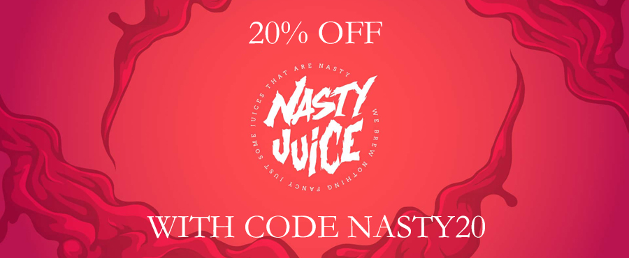 Nasty Juice 20% Off at Gourmet eLiquid!