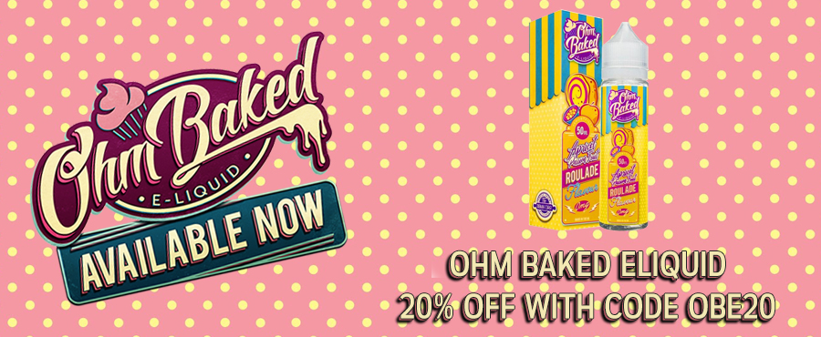 Ohm Baked 50ml Shortfill – £12.00 at Gourmet E-Liquid