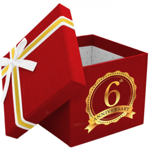 6th Anniversary Birthday Box – £75.00