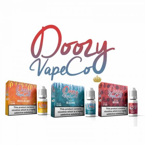 30ml Doozy Vape Co e-liquids – £2.55