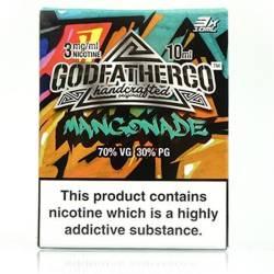 Mangonade by Godfather Co - 3 x 10ml Eliquid