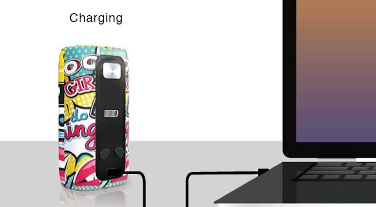 Think Vape Thor Mod USB charging