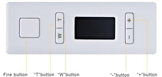 Aspire NX100 5-button Navigation Diagram