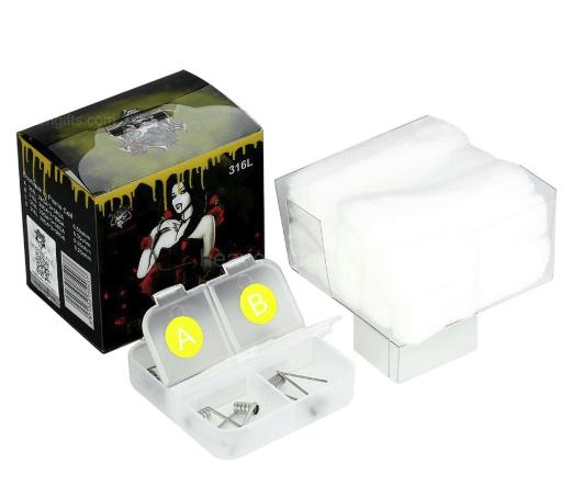 Demon Killer Wick & Flame 316L Coil Kit – £2.69