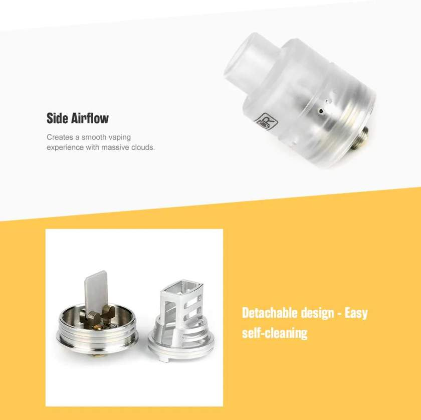 NCR New Concept RDA Side Airflow