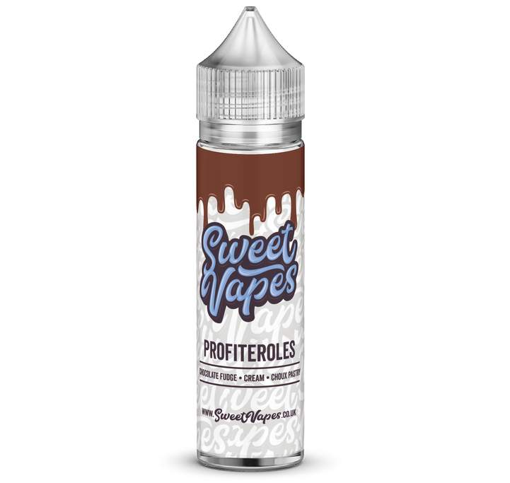 60ml SweetVapes Profiteroles Shortfil E-Liquid (incl. Nic shot) – £3.52
