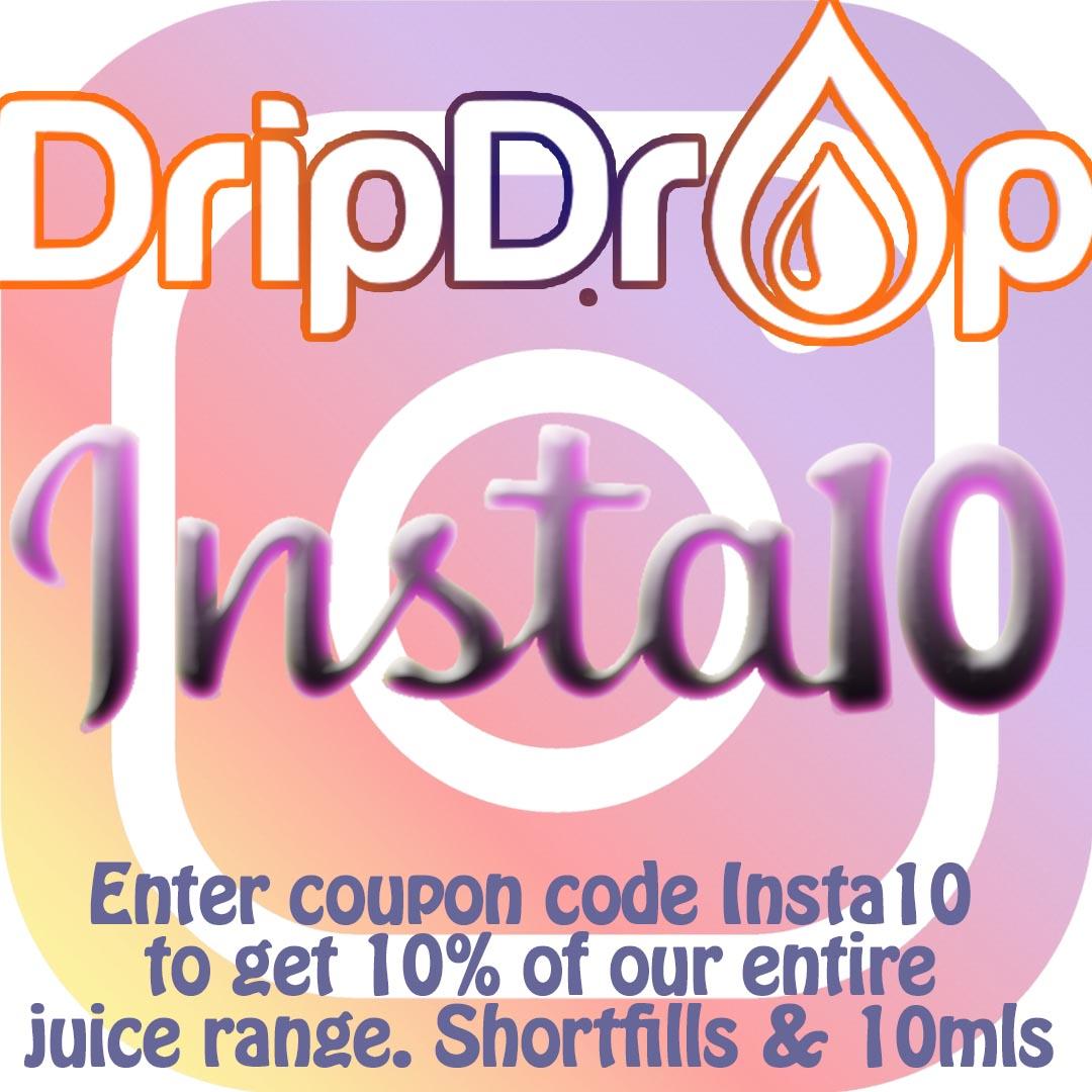 10% off all DDV e-liquid