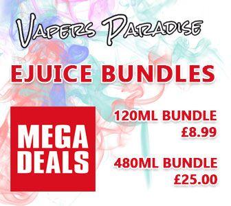 Vapers Paradise Mega Bundle E-liquids