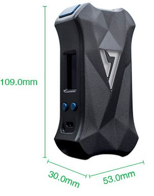 Desire X Mini Box Mod 108 watts Parameters UK