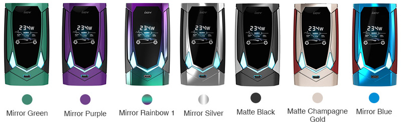 IJOY Avenger 270 234 Watts Voice Control Mod Colours