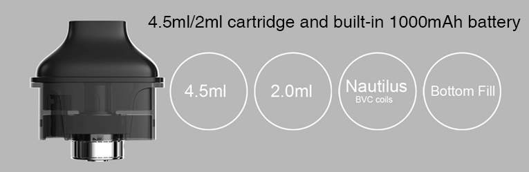 Aspire Nautilus AIO Kit Pod BVC coil
