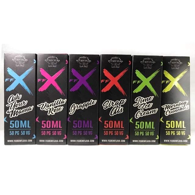 240ml Fcukin Flava E-Liquid Bundle (17 flavours) – £19.99 – £22.99