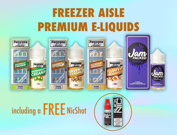 Freezer Aisle 120ml Shortfill – £7.50