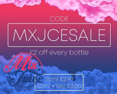 Mix Juice Full Range All £2.00 OFF