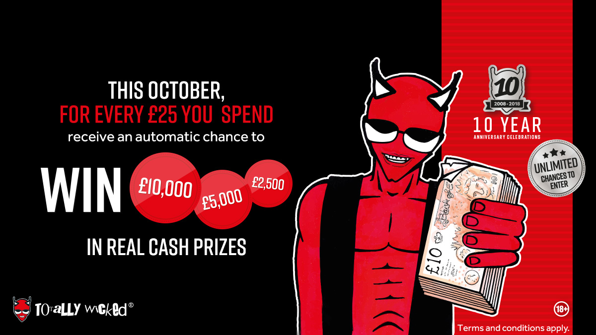 £10,000 1st prize giveaway
