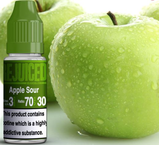 Apple Sour 10ml – £0.90 By ReJuiced