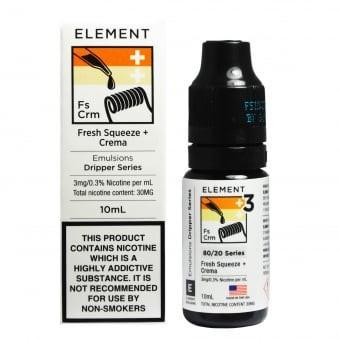 Element Emulsions 10ml – £0.99p at Gourmet eLiquid
