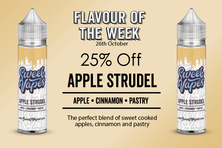 Apple Strudel 50ml Shortfill – £4.20