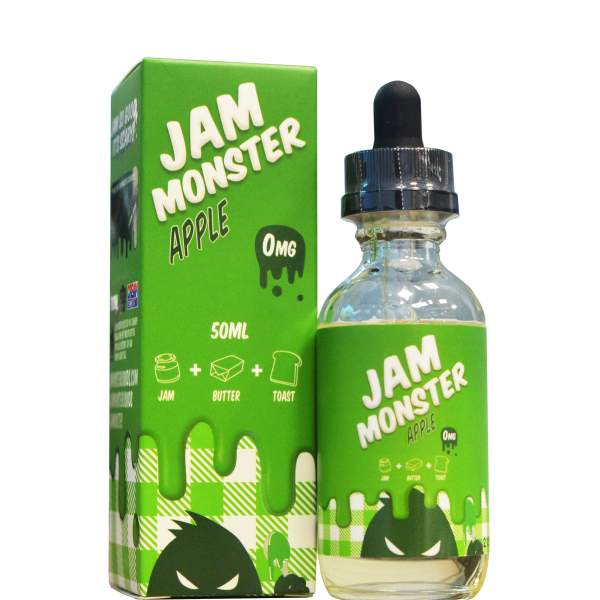 Jam Monster 50ml Shortfill  (All Flavours) -£7.50