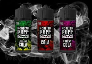 Moreish Puff Shortfills 50ml – £6.99
