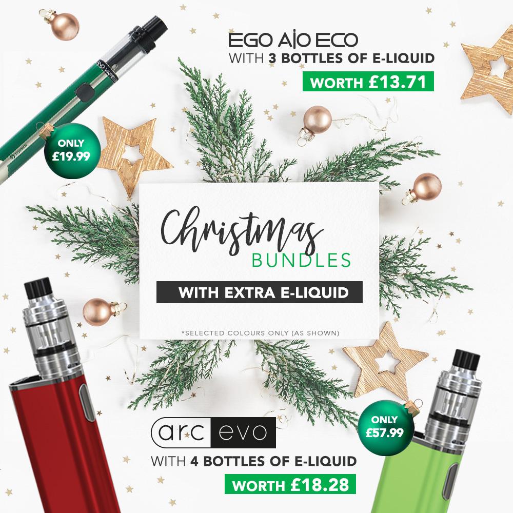 Christmas E-cig Bundles From £15.99 At TECC