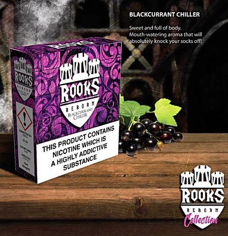Blackcurrant Chiller 3x 10ml – £8.00 by Rooks Reborn E Liquid