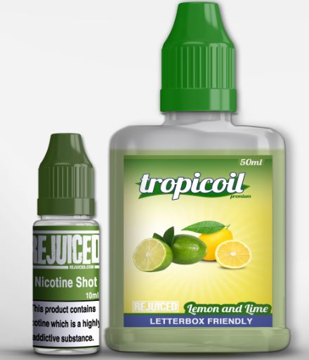 Lemon and Lime 60ml Short fill – £3.69