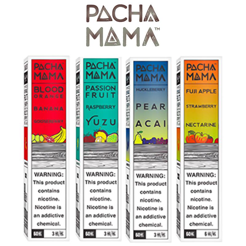PachaMama 50ml E-Liquid Shortfills by Charlie's Chalk Dust – £8.99