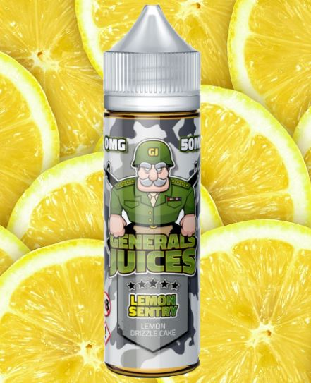 Lemon Sentry 60ml Short Fill – £7.00