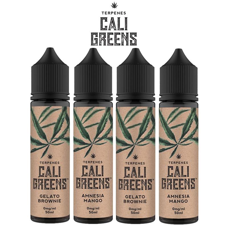 Cali Greens 50ml E-Liquid Shortfills – £12.99