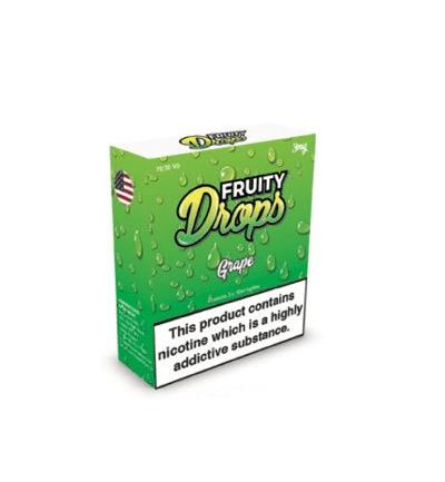 Fruity Drops Grape Eliquid 3 x 10ml – £0.99