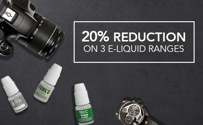 20% Reduction On Selected E-liquid At Joyetech UK