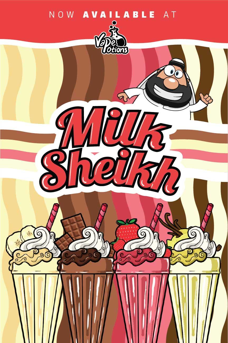 Milk Sheikh 100ml Short Fill – £5.20
